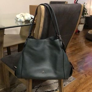 Edie shoulder coach purse